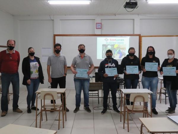 MEMBROS DA CIPA SÃO EMPOSSADOS NO MARTIN LUTHER - Créditos: Christoffer Magalhães