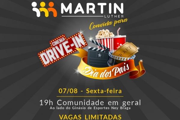MARTIN LUTHER PROMOVE CINEMA DRIVE-IN PARA OS PAIS DE MARECHAL RONDON