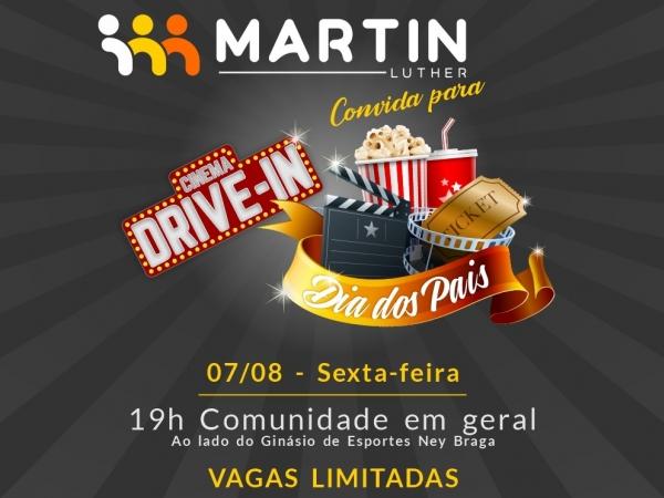 MARTIN LUTHER PROMOVE CINEMA DRIVE-IN PARA OS PAIS DE MARECHAL RONDON -