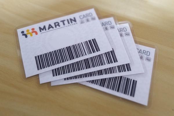 MARTIN LUTHER INOVA MAIS UMA VEZ E IMPLANTA O MARTIN LUTHER CARD
